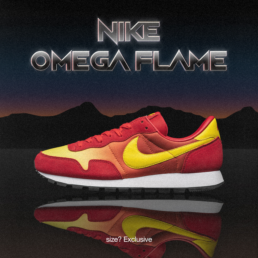 Find our exclusive Nike Omega Flame on ComplexLand 2.0 Marketplace