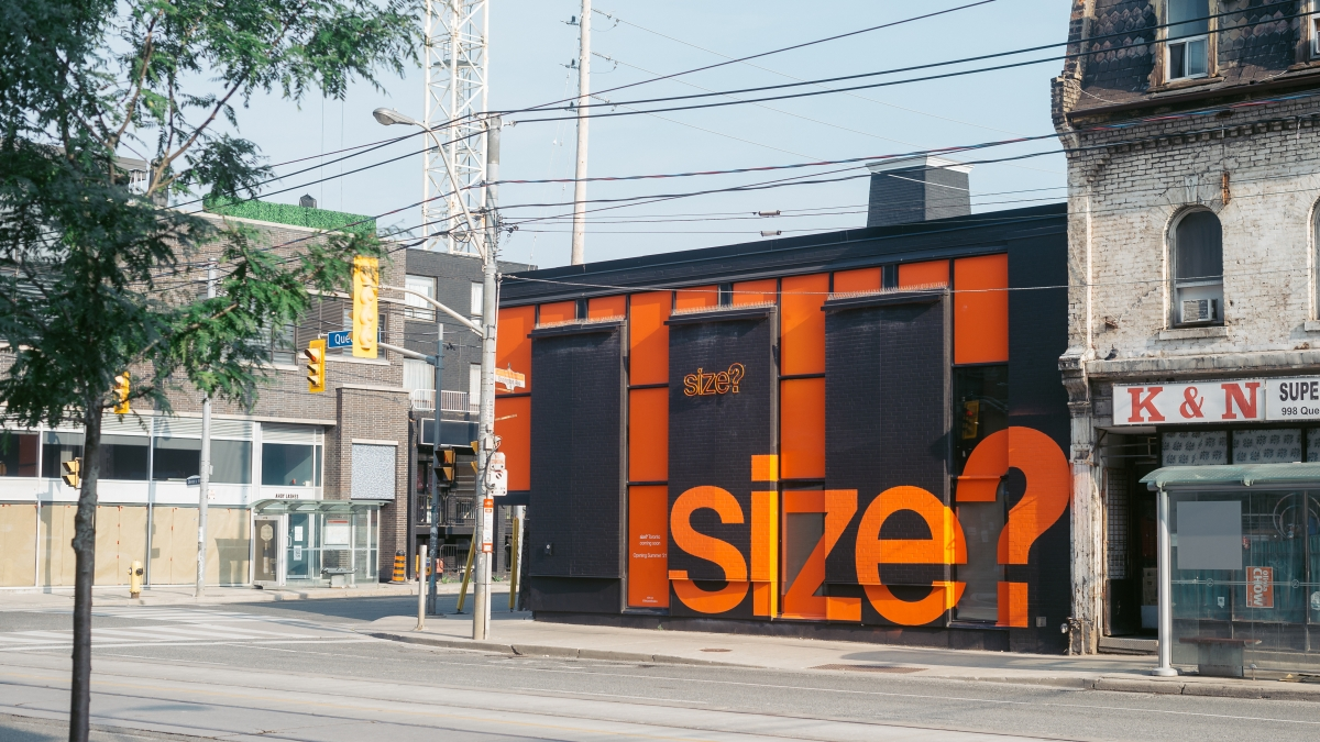 It's here! Our brand-new size? Toronto store
