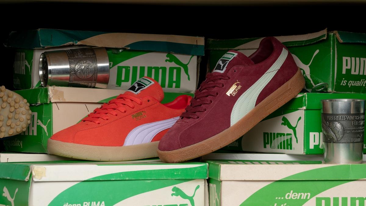 Two new PUMA Delphin Premium Colourways hit the shelves