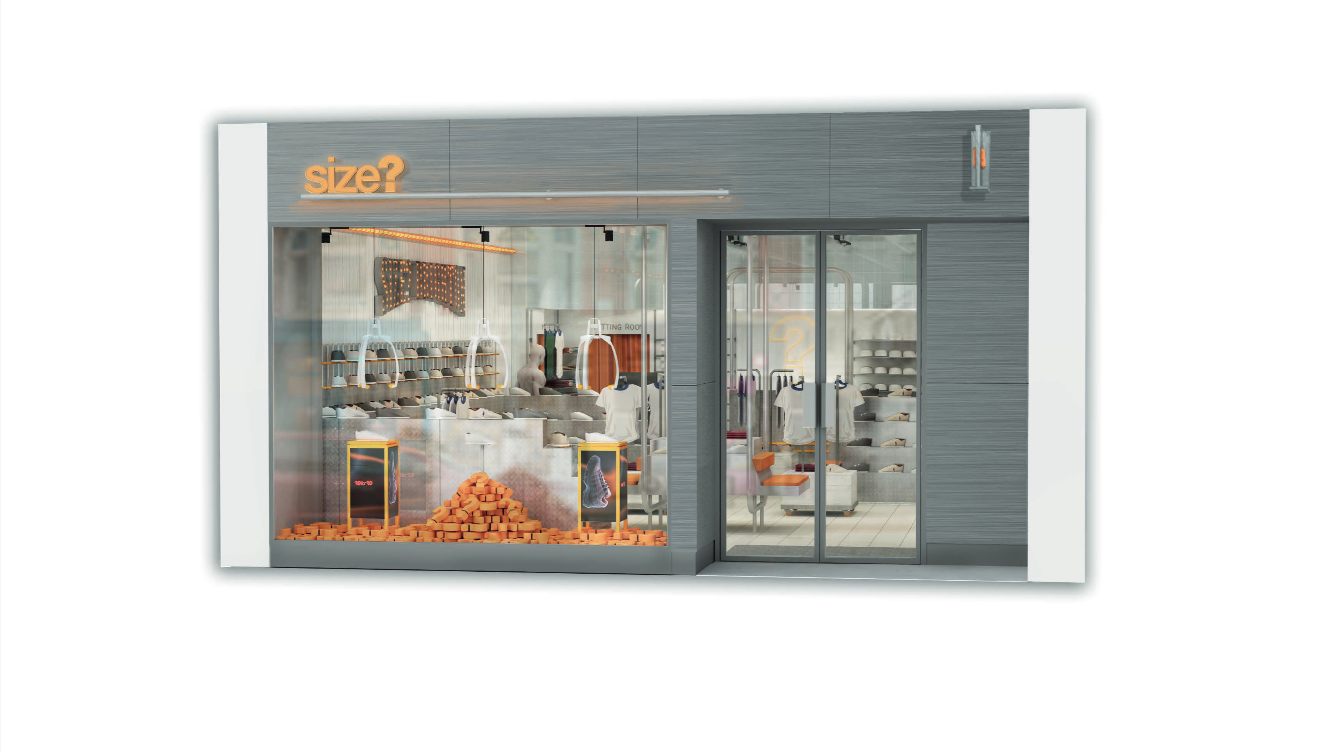 Introducing our all-new size? Brighton store