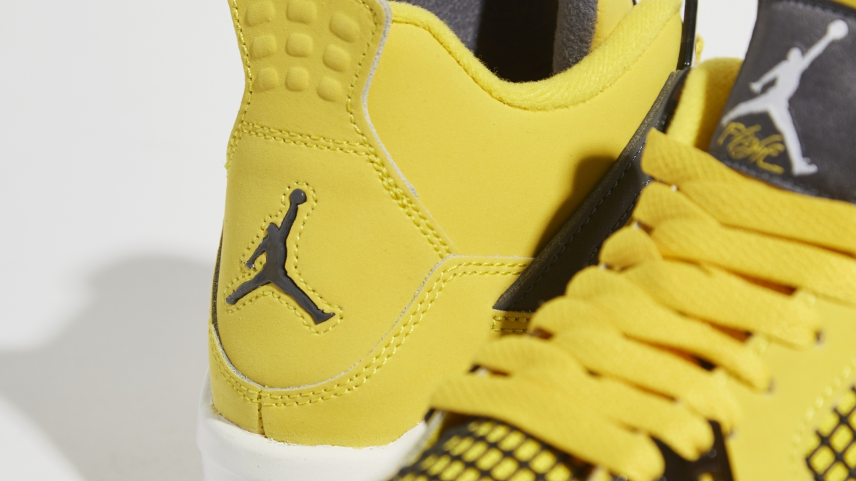 The Air Jordan 4 is back with a Retro 'Lightning' guise