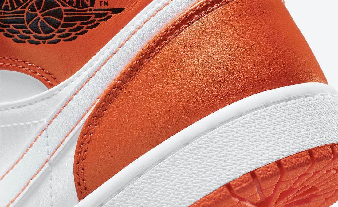 We look at the Air Jordan 1 Mid 'Metallic Orange'