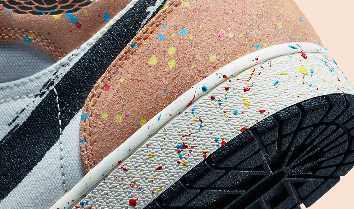 The Air Jordan 'Brushstroke' pack lands soon
