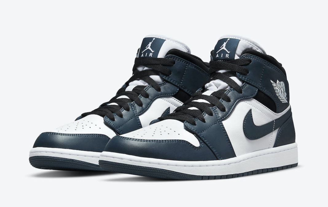 The Air Jordan 1 Mid revealed in a 'Dark Teal' colourway – raffle now open