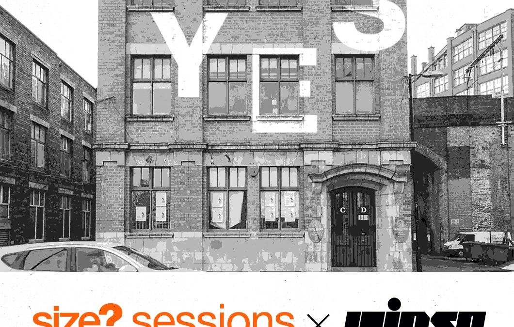 size? sessions Chunky and IAMDBB live at YES