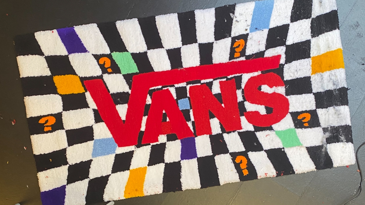 We are joined by Rugg Ryders for our Vans Needlework Creators Series