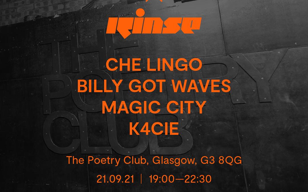 The size? x Rinse x Reebok Glasgow line-up