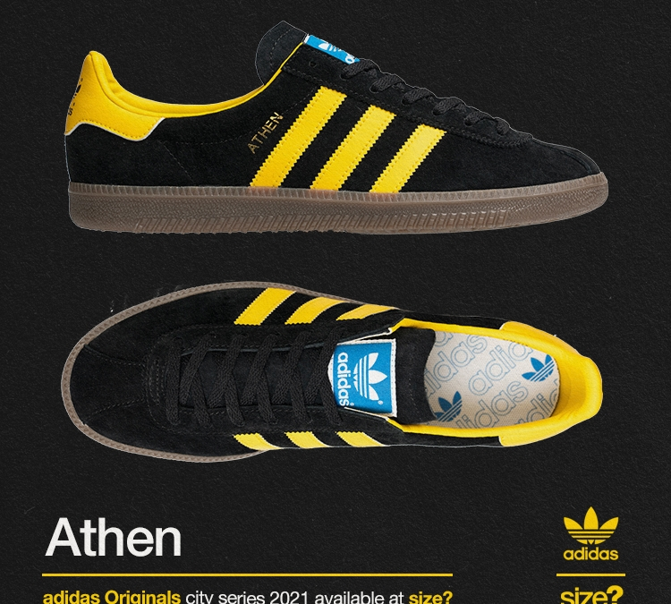 adidas Originals 'City Series' Athen – size? Exclusive – draw open
